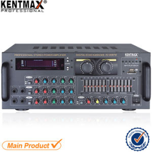 AV-808FM Professional Audio Prower Amplifer with VFD Display pictures & photos