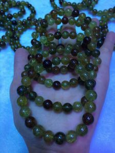 Fashion Gemstone Tsavorite Round Bead Jewelry pictures & photos