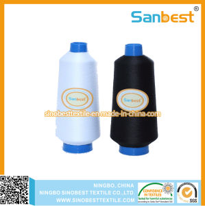 High Extensibility Continuous Polyester Textured Overlocking Thread pictures & photos