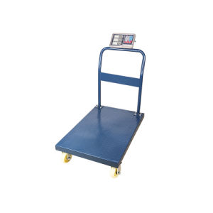 Rear Wheels with Brake Trolley Platform Floor Scale pictures & photos