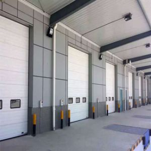 Industrial Automatic High Speed Sliding Garage Door pictures & photos