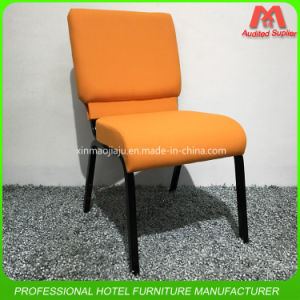 Luxury Metal Stacking Church Chair with Low Price pictures & photos
