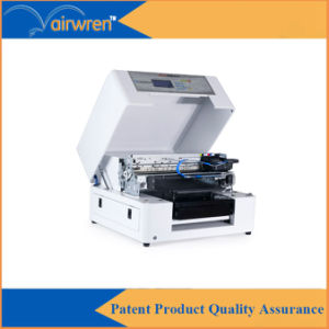 Inkjet T Shirt Printing Machine A3 Size Digital Textile Printer with White Ink pictures & photos
