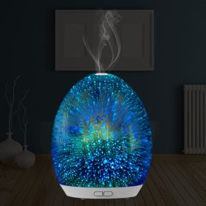 Huaipu Aroma Diffuser with 3D Effect and LED Light (GL-1013-A-037) pictures & photos