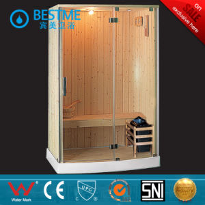 Full-Tempered-Glass Bathroom Steam Sauna Room (BZ-5035) pictures & photos