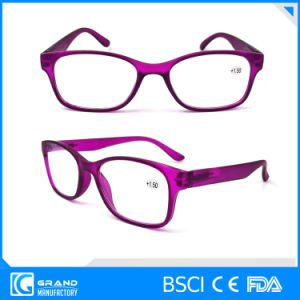 Classic Design Bright Light Rectify Eyesight Personal Optical Plastic Reading Glasses pictures & photos