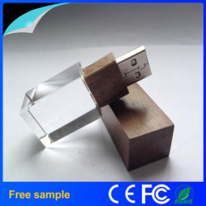 2016 Hotsale Crystal Bamboo Wood USB Memory Stick 8GB pictures & photos