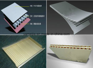 Prepainted Decorative Aluminum Corrugated Panels pictures & photos