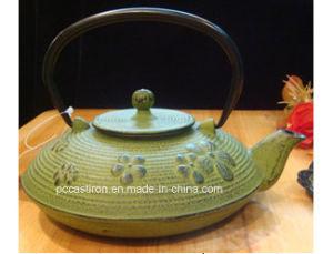 PCE08 Cast Iron Tea Kettle Supplier pictures & photos