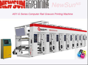 140m/Min Computerized Rail Thermal Paper Gravure Printing Machine (Asy-G) pictures & photos
