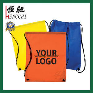 Polyester Gym Promotion Sports Bag with Logo Print pictures & photos