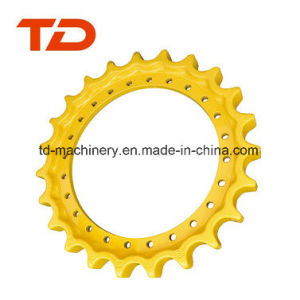 Komatsu PC40 Excavator Sprockets, Mini Drive Sprockets, Drive Roller Chain Roller for Crawler Excavator pictures & photos