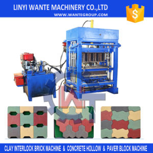 Manual Hollow/Paver Block Making Machine/Brick Making Machine pictures & photos