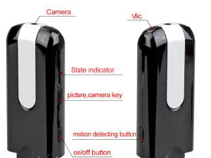 USB Disk Camera Video Recorder Motion Detection pictures & photos