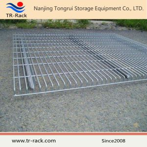 Galvanized or Powder Coated Heavy Duty Steel Wire Mesh Decking pictures & photos