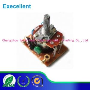 24mm 1k 5k 10k 47k Wh138 4gang Rotary Carbon Potentiometer pictures & photos