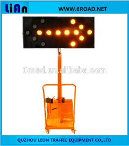 Mobile portable Solar LED Arrow Indicator Light pictures & photos