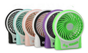 Portable Charging USB mini fan with 3 level wind speeding-Purple pictures & photos