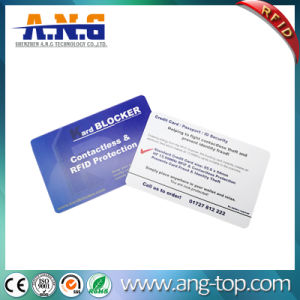 13.56MHz ISO14443 Passive Hf PVC RFID Smart MIFARE Card pictures & photos