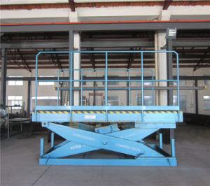 Stationary Heavy Hydraulic Scissor Lift Platform (SJG20-2) pictures & photos