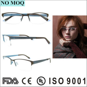 Popular High Quality Stainless Glasses Frame Eyewear Eyeglass Optical pictures & photos