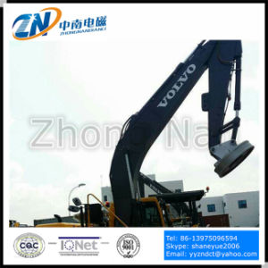 Scrap Yard Magnet for Excavator Installation with 75% Duty Cycle Emw-180L/1-75 pictures & photos