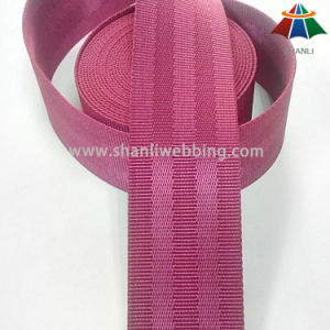 1.5 Inch Rose Red 5-Panel Nylon Seat Belt Webbing pictures & photos