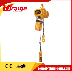 New Product 3 Phase Motor 6 M 5 Ton Electric Chain Hoist pictures & photos