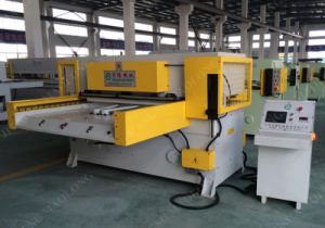 Maolong Both Sides Feeding PLC Control Hydraulic Die Cutting Press pictures & photos