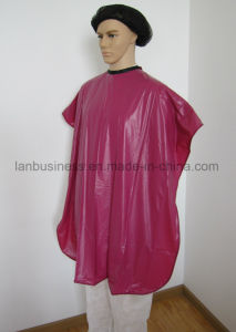 Waterproof Hair Cutting Capes with Velcro Closure pictures & photos