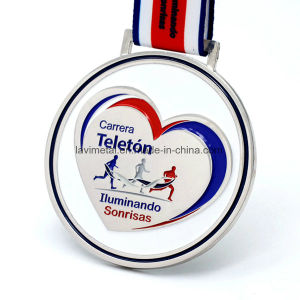 Hot Selling Custom Heart-Shaped Running Sport Medal pictures & photos