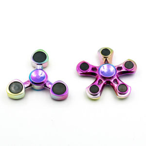 Good Quality Plastic Rainbow Color ABS Fidget Spinners pictures & photos