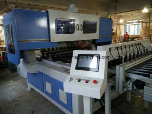 High Speed CNC Picture / Photo Frame Cutting Saw Machine with 45 Degree (TC-850) pictures & photos
