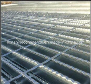 Galvanized Serrated Steel Bar Grating pictures & photos
