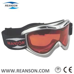 Metallic Paiting Soft TPU Frame Professional Outdoor Sports Goggles pictures & photos