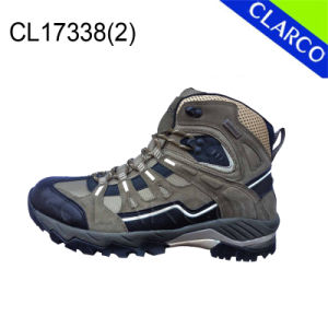 Cowsuede Men Sports Outdoor Hiking Safety Shoes pictures & photos