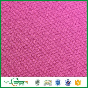 Fabrics Textiles Cloth Design Bangladesh 100% Polyester Knit Fabric Honeycomb Pattern pictures & photos