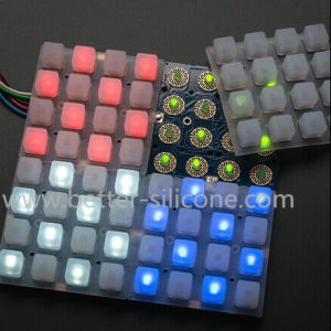 Silicone Rubber 4X4 LED Music Button Pad pictures & photos