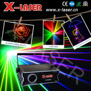 Pub Laser Light Projector/X-Laser 1W RGB Laser Light for Sale pictures & photos
