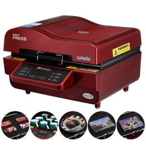 Ce Approved Multi-Function 3D Vacuum Sublimation Heat Transfer Machine (ST-3042) pictures & photos