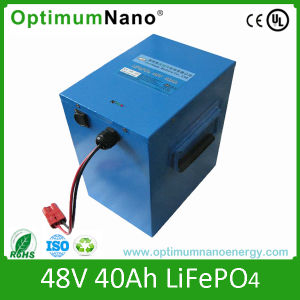 48V40ah Lithium Ion LiFePO4 Battery for Boat pictures & photos