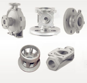 Permanent Investment Casting Components with Finish Treatment pictures & photos