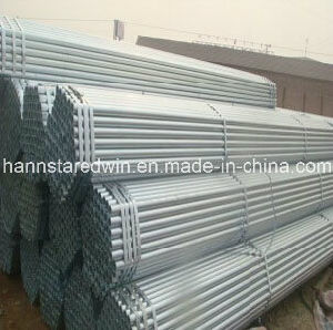 Hot Dipped and Pre-Galvanized Steel Pipe Supplier pictures & photos