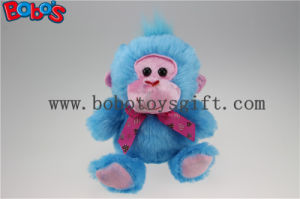 Promotional Produce Soft Blue Monkey Stuffed Animal Toy pictures & photos