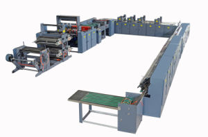 Fully Automatic Printing and Adhesive Binding Exercise Book Machine pictures & photos