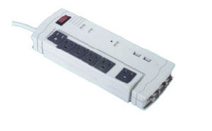 5 Outlets Surge Protector Power Strip with ETL Approval (RZP-L03) pictures & photos