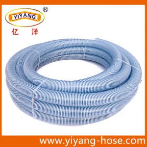 PVC Transparent Powder Water Suction Hose (SH1011-03) pictures & photos
