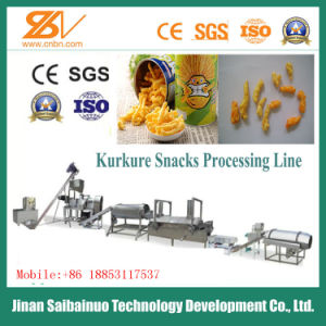 Ce Standard Full Automatic Corn Snacks Kurkure Making Plant pictures & photos