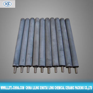 Silicon Nitride Bonded Silicon Carbide Thermocouple Protection Tube