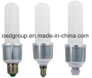 Aluminum&Glass Cover LED Bulb with 360degrees G24 E14 E27 pictures & photos